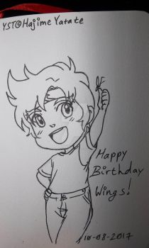 Happy Birthday MagicalCrystalWings by Fangirl-Shenanigans