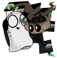 Napstablook and Phantump