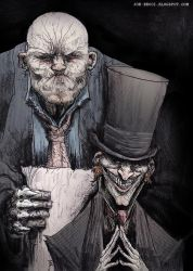 Neverwhere - Mr Croup and Mr Vandemar by Fuelreaver