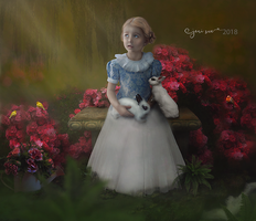 In The Garden by Jeni-Sue