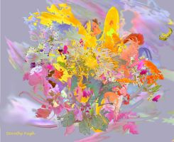 Floral Explosion by DorothyPugh