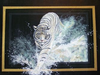 White Tiger by Artsy50