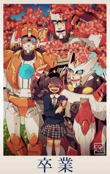 MTMTE: Graduation by c0ralus