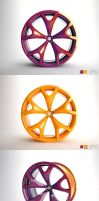 Citroen C-Prototype Wheel by paulodesign