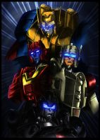 Autobots Pretenders by fargnay