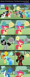 Stories of The Elements: The Grand Ceremony Part 8 by EmoshyVinyl