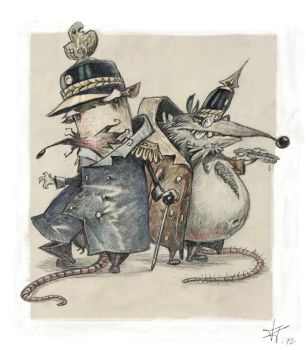 Prussian Mice by TobiTrebeljahr
