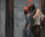 Caught in the Rain by hyperionwitch