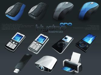 HydroPRO -HP- Hardware Set by MediaDesign