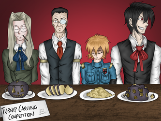 Turnip Carving Contest by SilverMonki