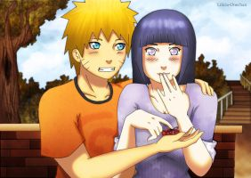 NaruHina .::My Best Gift::. by Lilicia-Onechan