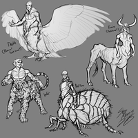 Centaurs of the Apocalypse by Arrow-Wing