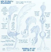How To Draw A Roadrunner by ixbalam