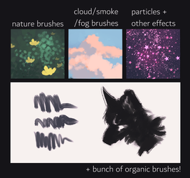 paint tool sai scatter brushes (free to download!) by revioLATE