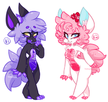 AUCTION (CLOSED) CANDY ENTRAIL CHARACTERS! by HoshPosh