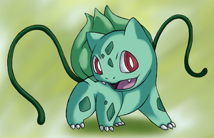 .:Bulbasaur:. by Pendulonium