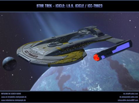 STAR TREK - ICICLE: ISS ICICLE / ICC-79823 by ulimann644