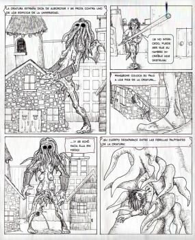 Wangbone Mexican comic page by TroyJunior