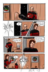 The Past Reminder (Picard/Q) Page 1 by Kuromizuri2
