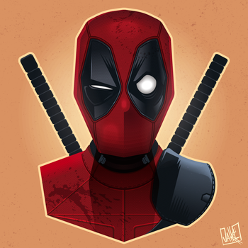 DeadPool by JakkeV