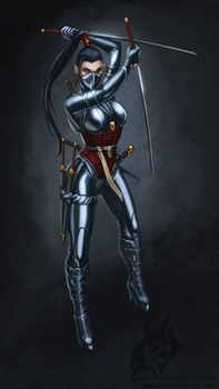 Death cult assassin Bethrie by Inkary