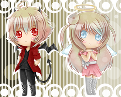 Devil#4 and Angel#5 Adopts {Points Auction} Closed by ElyFelt