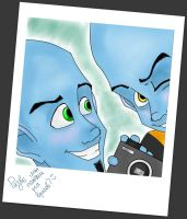 Megamind and Vice by MindlessKate