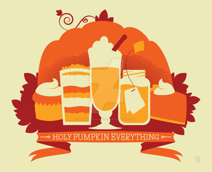 Holy Pumpkin Everything by StephanieGauthier