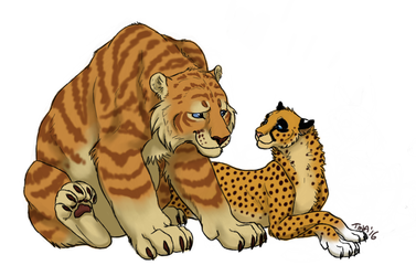 Bri and the Chee by TinaLeRawr