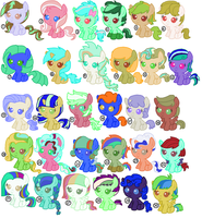 Foal Adoptables 9 [OPEN] by ToastedToast15