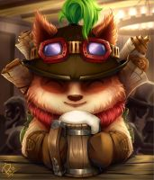 League of Legends : Teemo by Philiera