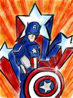 Captain America by patoftherick