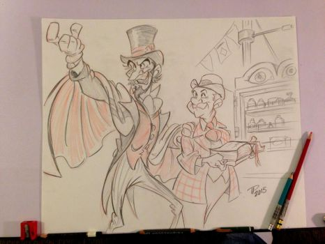 Halloween Countdown with Disney Villains #8 by Snipetracker