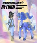 Wondering Moon: Return by weasselK