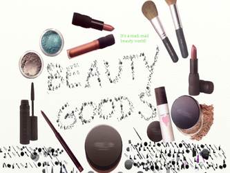 Beauty Goods Stickers by cynvision