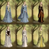 Eowyn's Wardrobe in Return of the King by LadyAquanine73551