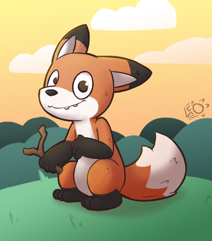 Chander The Fox (AT) by LeoTheLionel