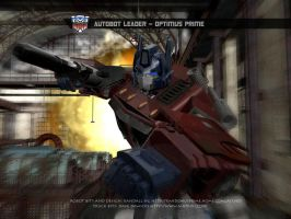 Optimus Prime 3d img revisited by rando3d