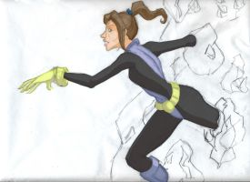 Shadowcat with colors by animatorsc