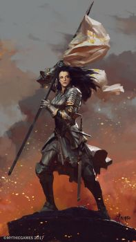 Joan Of Arc by bayardwu