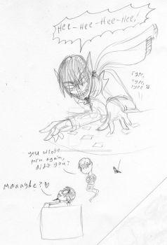 DP: Danny and GW sketches 1 by The-Clockwork-Crow