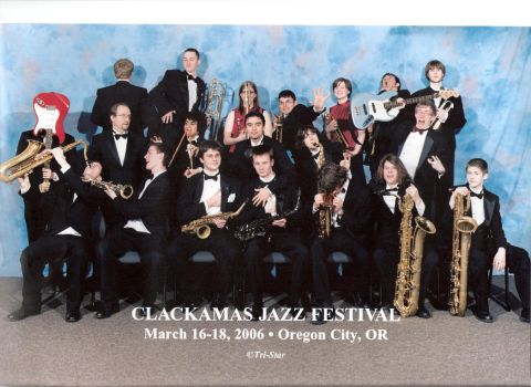 The CHS Jazz Band by IronMonkey69