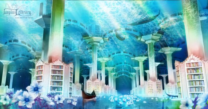 Lupius Library : Water Library by zese
