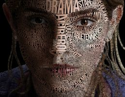 Emma Watson Typography by kmilaaf123