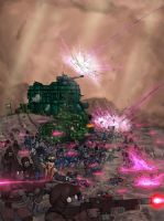 Boreale Crusade The fighting for Miyir by jailgurdnegative