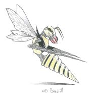 Beedrill by LordOrenamus