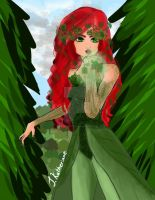 Poison Ivy  by CuddleKittyy