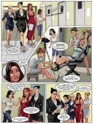 COOCHIE COUGAR #2: CLINICAL INSANITY! Preview art! by MTJpub