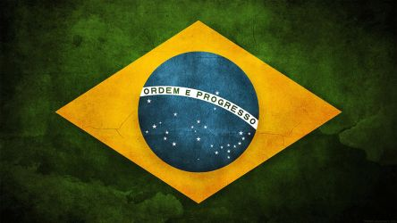 Brazil Flag by think0