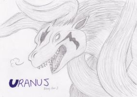 Uranus the Chimera RAWR by Boltonartist